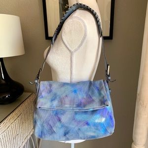 Aimee Kestenberg Double Entry Hobo Shoulder Bag